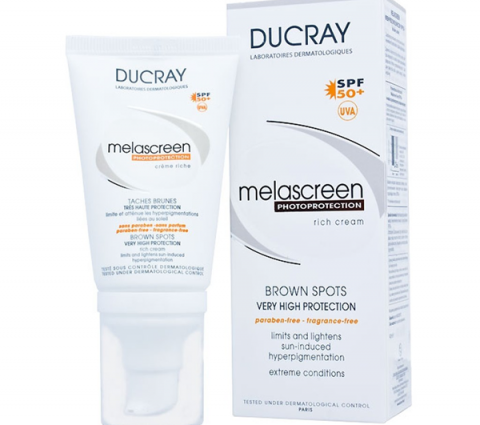 Kem chống nắng Ducray Melascreen Photoprotection Rich Cream SPF50+